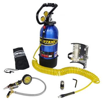 Picture of CO2 Tank 10 LB 400 PSI Package B System W/Power Flow II