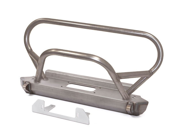 Picture of Jeep Bumper Trail/Grill Guard 87-95 Wrangler YJ Front Steel Bare GenRight