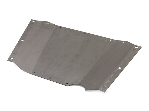 Picture of Jeep Skid Plate Belly Up 97-06 Wrangler TJ .250 Thick Steel Bare GenRight