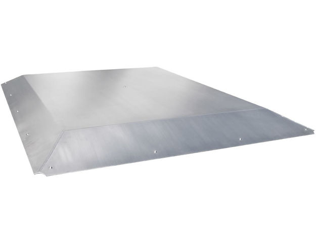 Picture of Jeep Roof For GenRight Roll Cage 87-95 Wrangler TJ, YJ And Jeep CJ-7 Aluminum Bare GenRight